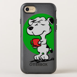 Capa Para iPhone 8/7 OtterBox Symmetry Café do bebendo do cão
