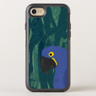 Capa Para iPhone 8/7 OtterBox Symmetry Caixa azul do papagaio iPhone7
