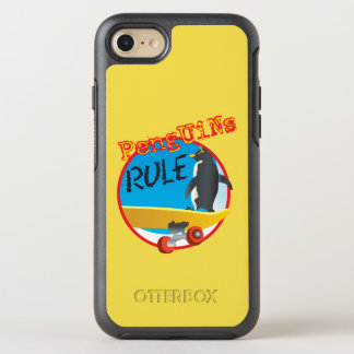 Capa Para iPhone 8/7 OtterBox Symmetry Caixa da lontra da REGRA dos pinguins