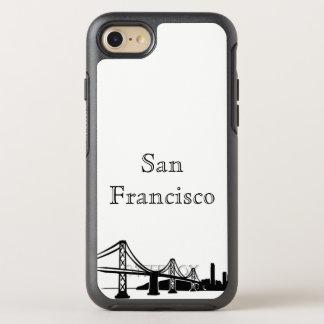 Capa Para iPhone 8/7 OtterBox Symmetry Caixa da silhueta da skyline de San Francisco