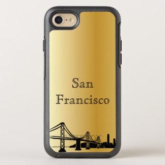 Capa Para iPhone 8/7 OtterBox Symmetry Caixa da silhueta da skyline de San Francisco do