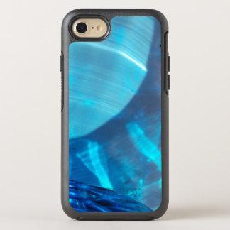 Capa Para iPhone 8/7 OtterBox Symmetry Caixa de cristal azul da lontra do design do