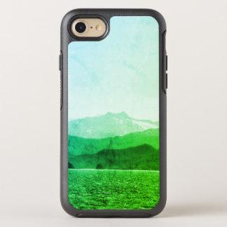 Capa Para iPhone 8/7 OtterBox Symmetry Caixa verde de OtterBox das montanhas