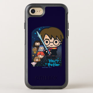 Capa Para iPhone 8/7 OtterBox Symmetry Câmara de Harry Potter dos desenhos animados dos