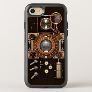 Capa Para iPhone 8/7 OtterBox Symmetry Câmera retro do vintage do estilo de Steampunk