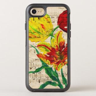 Capa Para iPhone 8/7 OtterBox Symmetry canções da tulipa
