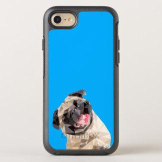Capa Para iPhone 8/7 OtterBox Symmetry Cão bonito dos espanadores