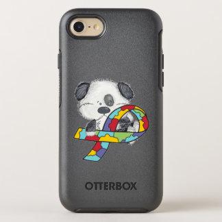 Capa Para iPhone 8/7 OtterBox Symmetry Cão da consciência do autismo
