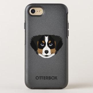 Capa Para iPhone 8/7 OtterBox Symmetry Cão de montanha de Bernese da ilustração