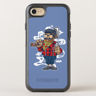 Capa Para iPhone 8/7 OtterBox Symmetry Capa de telefone de Otterbox da barba da pizza