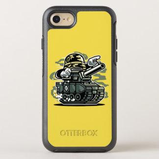 Capa Para iPhone 8/7 OtterBox Symmetry Capa de telefone de Otterbox do tanque da guerra