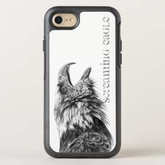 Capa Para iPhone 8/7 OtterBox Symmetry Capa de telefone gritando de Eagle