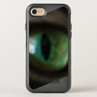 Capa Para iPhone 8/7 OtterBox Symmetry capa de telefone verde do olho de gato
