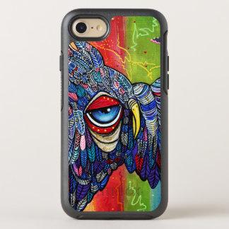 Capa Para iPhone 8/7 OtterBox Symmetry Capas de iphone coloridas dos grafites da coruja