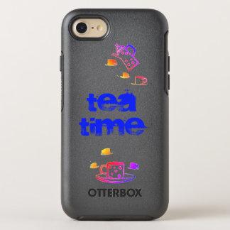 Capa Para iPhone 8/7 OtterBox Symmetry Capas de iphone da edição do por do sol do tempo