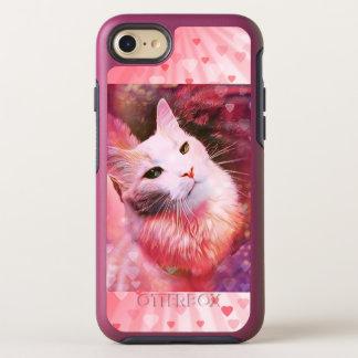 Capa Para iPhone 8/7 OtterBox Symmetry Capas de iphone engraçadas do coração do amor do