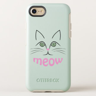 Capa Para iPhone 8/7 OtterBox Symmetry Cara do gato