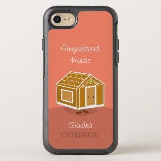 Capa Para iPhone 8/7 OtterBox Symmetry Casa de pão-de-espécie e nome |