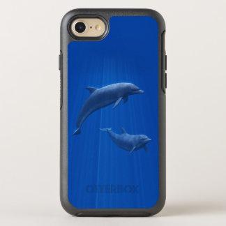 Capa Para iPhone 8/7 OtterBox Symmetry Casal do golfinho