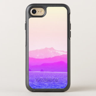Capa Para iPhone 8/7 OtterBox Symmetry Caso cor-de-rosa de OtterBox das montanhas