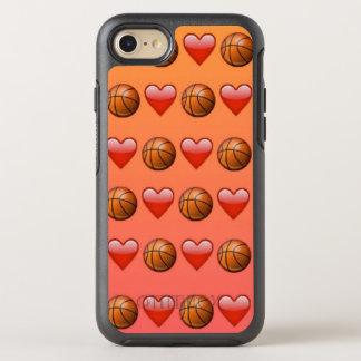 Capa Para iPhone 8/7 OtterBox Symmetry Caso de Otterbox do iPhone 7 de Emoji do