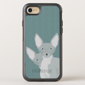 Capa Para iPhone 8/7 OtterBox Symmetry Caso de OtterBox iPhone7 do gato de Sphynx