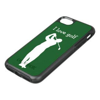 Capa Para iPhone 8/7 OtterBox Symmetry Caso de Smartphone do tema do golfe