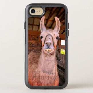 Capa Para iPhone 8/7 OtterBox Symmetry Caso de sorriso do otterbox do iphone 7 do lama