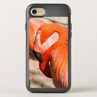 Capa Para iPhone 8/7 OtterBox Symmetry Caso do iphone 7 da caixa da lontra do flamingo