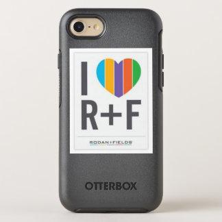 Capa Para iPhone 8/7 OtterBox Symmetry Caso do iPhone 8 do amor de R e de F
