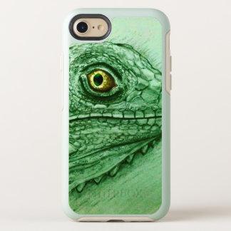 Capa Para iPhone 8/7 OtterBox Symmetry caso do vintage do iPhone - iguana