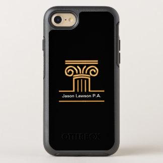 Capa Para iPhone 8/7 OtterBox Symmetry Caso elegante de Smartphone do advogado
