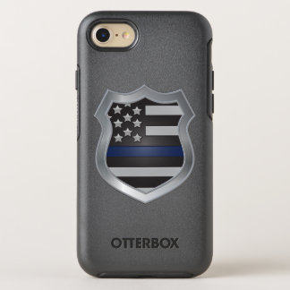 Capa Para iPhone 8/7 OtterBox Symmetry Caso fino do iPhone 7 de Blue Line