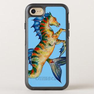 Capa Para iPhone 8/7 OtterBox Symmetry Cavalo marinho no azul