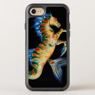 Capa Para iPhone 8/7 OtterBox Symmetry cavalo marinho no preto