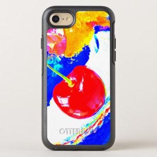 Capa Para iPhone 8/7 OtterBox Symmetry Cereja na caixa superior da lontra