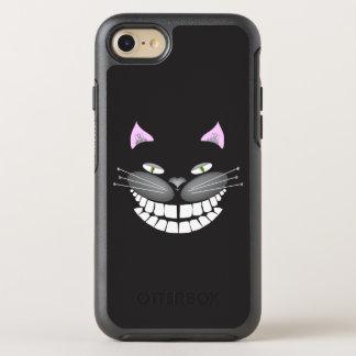 Capa Para iPhone 8/7 OtterBox Symmetry Chester o gato preto de Cheshire no iphone 7/8