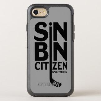 Capa Para iPhone 8/7 OtterBox Symmetry Cidadão da caixa do pecado do hóquei