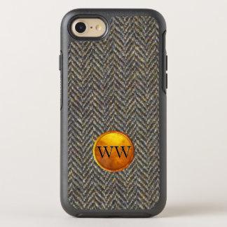 Capa Para iPhone 8/7 OtterBox Symmetry Clássico feito sob encomenda legal do monograma da