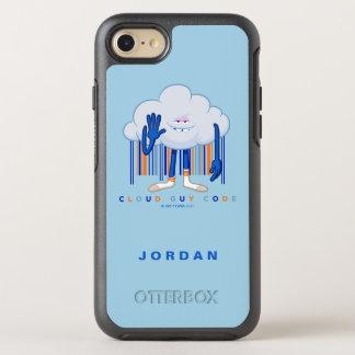 Capa Para iPhone 8/7 OtterBox Symmetry Código da cara da nuvem de Trolls|