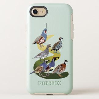 Capa Para iPhone 8/7 OtterBox Symmetry Codorniz de BennuBirdy de America do Norte (nenhum