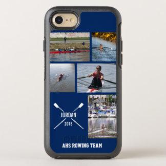 Capa Para iPhone 8/7 OtterBox Symmetry Colagem personalizada da foto dos remos do
