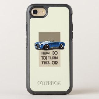 Capa Para iPhone 8/7 OtterBox Symmetry Como você gira este no carro azul da cobra