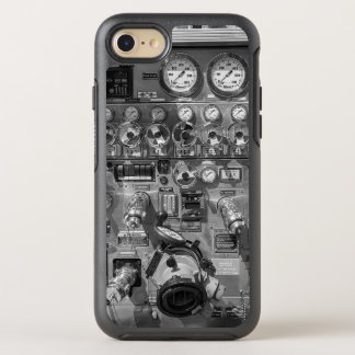 Capa Para iPhone 8/7 OtterBox Symmetry Conjunto do calibre do Firetruck de Steampunk