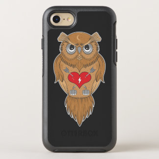 Capa Para iPhone 8/7 OtterBox Symmetry Coruja artística