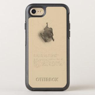 Capa Para iPhone 8/7 OtterBox Symmetry Corynorhinus que tira capas de iphone de Otterbox