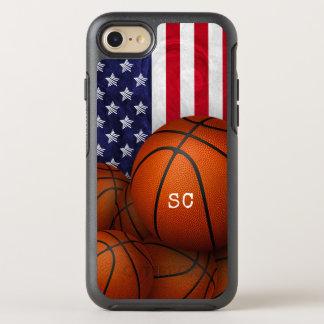 Capa Para iPhone 8/7 OtterBox Symmetry costume da bandeira dos Estados Unidos dos