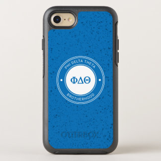 Capa Para iPhone 8/7 OtterBox Symmetry Crachá da teta | do delta da phi