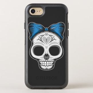 Capa Para iPhone 8/7 OtterBox Symmetry Crânio do açúcar