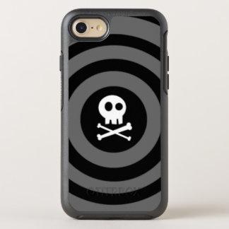 Capa Para iPhone 8/7 OtterBox Symmetry Crânio do ~ + ~ dos Crossbones